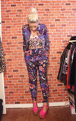 Lucy Rance - Asos Jacket, Asos Trousers, Jeffrey Campbell Shoes, Topshop Top, Topshop Earrings - NYE
