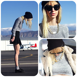 Amanda . - Lf Sweater, Id Necklace - Hemet ryan airport