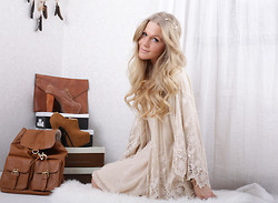 Anna Wiklund - Lace Cardigan - SHINE YOUR LIGHT ON ME