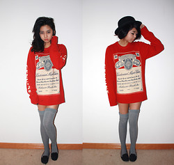 Jasmine S - Urban Outfitters Budweiser Sweater - You're no good for me