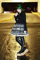 Jenna G - Putumayo Arch Dress, Target Black Bolero, An*Tai*Na Platform Mary Janes - Through the Gash