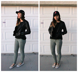 Jina L - Forever 21 Khaki Skinnies - Make time to live a little