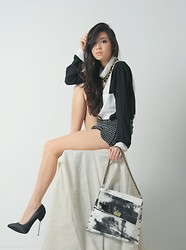 Kryz Uy - Hob Bag, Clothes For The Goddess Top, Closet Goddess Shorts - Basically Basic