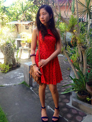 Valerie May Garingalao - Dorothy Perkins Dress, Fila Wedge - To church, after a year