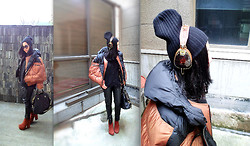 CJ Y - Marni Outer, Skullcandy Headphone, Givenchy Bag, Vagabond Shoes - Cape lover