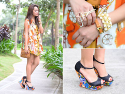 Laureen Uy - Dress Diaries, Fashoin Galore Vest, Girls Are Weird Ring, Balenciaga Bag, Cmg Wedges - The Butterfly Effect (BMS)