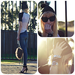 Amanda . - Carmar Denim, Giving Away On The Blog! Beanie - Camo beanie