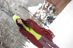 Sonja Gje - Sheinside Coat, Romwe Jumper, H&M Pants - Find me in the winter