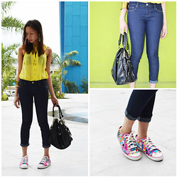 Valerie May Garingalao - Forever 21 Pants, Charles & Keith Bag - Sunny