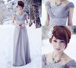 Erika Henell - Msdressy.Com Floor Length Dress - The land of always winter.