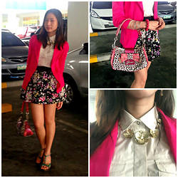 Valerie May Garingalao - Just G Skirt - Pink is SWEEET