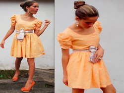 Thaiz Batista - Viamarte - Look: Orange