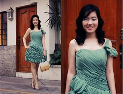 Bernice Angelica Sy - Dress A Day, The Ramp Heels, Thrifted Clutch - Prom