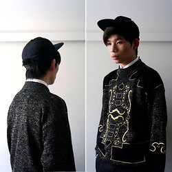 Alan Li - Thrifted Sweater - Patterned Sweater