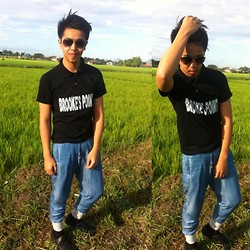 Wilbourne Bautizado - 6ixty 8ight Denim, Polo Shirt, Forever 21 Shades, Stone Haven Boat Shoes - Pampanga's Best