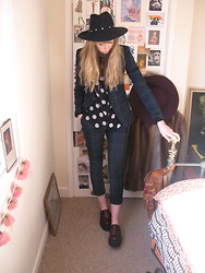 Sally-Anne Holliday - Underground Creepers, Minkpink Shirt - Widcombe Parade