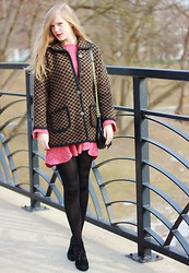 Sydney Hoffman - Holt Renfrew - Pink and Polka Dots