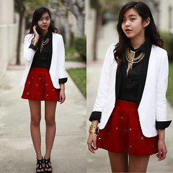 Amelia Jin - Oasap Star Studded Skirt - Lone Star