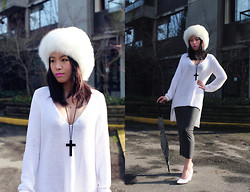 Shane Wu - Fur Hat, Zara Sweater - Should i ask him out on Valentine's day?