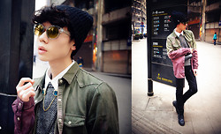 Mooney Meng - H&M Sunglasses, Topman Tapered Shirts, Collar Button - I never love again