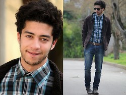 Rayan Benhammadi - Ray Ban Glasses, Zara Jacket, Lefties Shirt, Zara Pant, Louis Vuitton Shoes - FirstClassPlease !