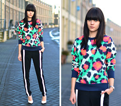 Lucy De B. - Bright Leopard Print Sweater - Typical Thursday