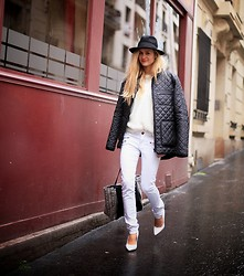Adenorah M - Samsoe Jacket - Adenorah - all white