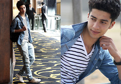 Rayan Benhammadi - H&M Shirt, Bershka T Shirt, Zara Pant, Converse Shoes, Swatch Watch - Hello ALL!