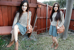 Melody Danian - Forever 21 Sweater, Express Boots - My Little Boots