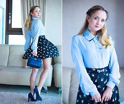 Olga Choi - Udobuy Blouse, Miss Nabi Skirt, Miss Nabi Bag - B is for Blair