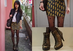Clara . - Skirt, Asos Boots, Asos Tights - BoLT