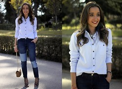 Besugarandspice FV - Zara Jeans, H&M Blouse, Zara Shoes - New Jeans & New Shoes