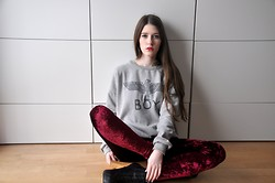 Laura R. - Romwe Sweater, Romwe Leggings, Primark Heels - BOY