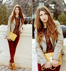 Lyuba Berlyant - Forever 21 Sweater, New Look Bag, Forever 21 Wedges - You're more than a friend and more than a lover, Viktoria!