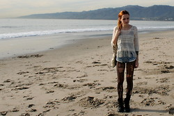 Ruth Less - Steve Madden Combat Boots, Marshall's Hippie Top - In the city of angels where dreams come true