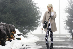 C V - H&M Pants, Gap Coat - Home