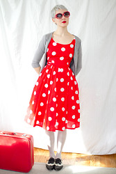Kathryn Bagley - Vintage Dress - Valentimes