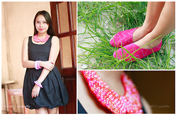 For All Things Pretty By Janjie & Jhet - H&M Lbd, Hebe Manila Cut Out Booties - Budapest
