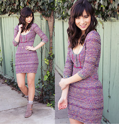 Chesley Tolentino - Free People Dress, Luxury Rebel Booties - Feeling the Love
