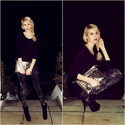 Lisa B. - Zara, H&M, Tally Weijl, Primark - Dark night
