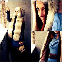 Anami Papay - New Look Ushanka, Taily Wejl Jumper Dress, Primark Belt - Ushanka Fun
