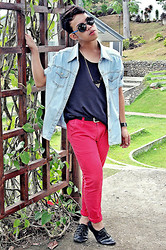 Jaen Earthling - Diy Denim, Tomliz Acc Triangle Necklace, Trifted - Bring me back to normal