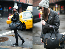 Zina CH - H&M Jacket, 3.1 Phillip Lim Bag, Alexander Wang Shoes - Meatpacking District