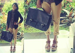 Tuti Mahayani - Charles & Keith, Satchel Bag - College #1