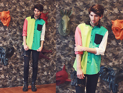 Bobby Raffin - Prpgnda Colour Block Shirt - PRPGNDA