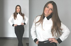 Polina Lobanova - Nowistyle Shirt, Asos Pants - Business