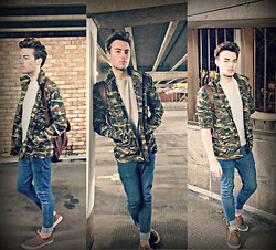 Dapper Gent Blog - The Hut Camouflage Jacket - The Hut