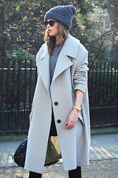 Christine R. - Topshop Oversized Coat - At Bedford Square