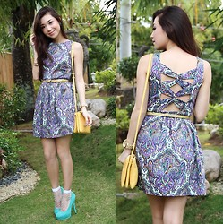 Kryz Uy - Stylistaph Dress - Sunset Surprise