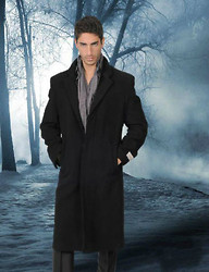 Elad Y. - Burberry Trench Coat, Faded Glory Pale Scarf - Evil is Beyond the Reach of No Man